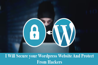 secure your wordpress website and protect from hackers