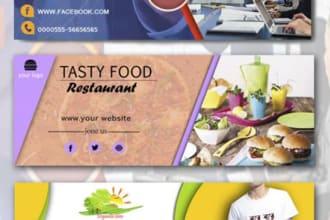 do design facebook cover, social media design