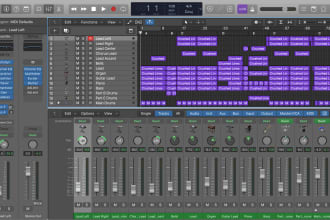 mix your song in logic pro
