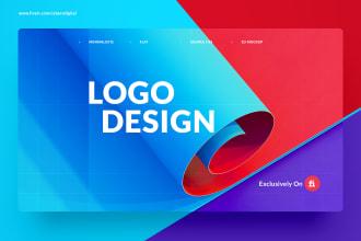 do unique minimalist logo design