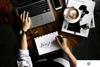 create and illustrate your social media content