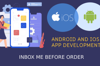 make professional android and IOS app for any business