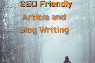 write SEO friendly high quality article or blog posts