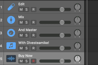 edit, mix, and master your podcast
