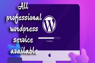 build full wordpress website with SEO, fast load and mobile friendly
