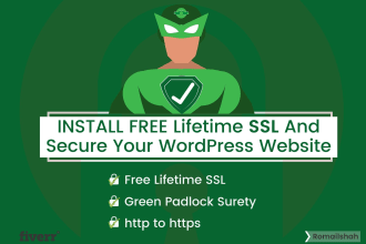 install free SSL certificate and secure your wordpress website