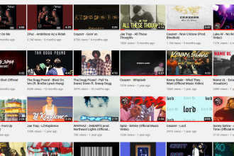 promote your music on my youtube channel with over 670k subs