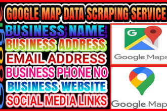 do google map data scraping service to grow your business