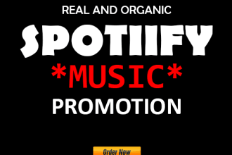 do organic spotify promotion and make it viral