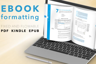 create your ebook in an attractive layout