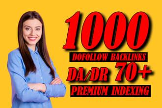 do high quality contextual SEO dofollow backlinks service