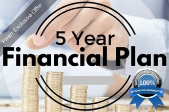 do financial plan, financial projections, or financial model
