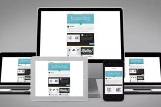 design responsive html newsletter