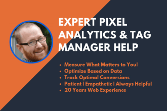 troubleshoot google analytics, tag manager and facebook pixel issues