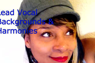 sing female lead vocal or background vocals