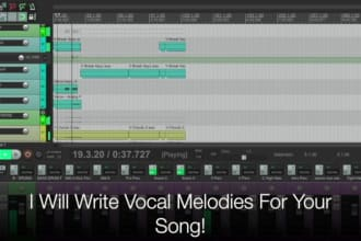 write a vocal melody for your song
