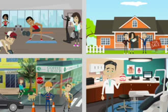 create you an animated sales or explainer video