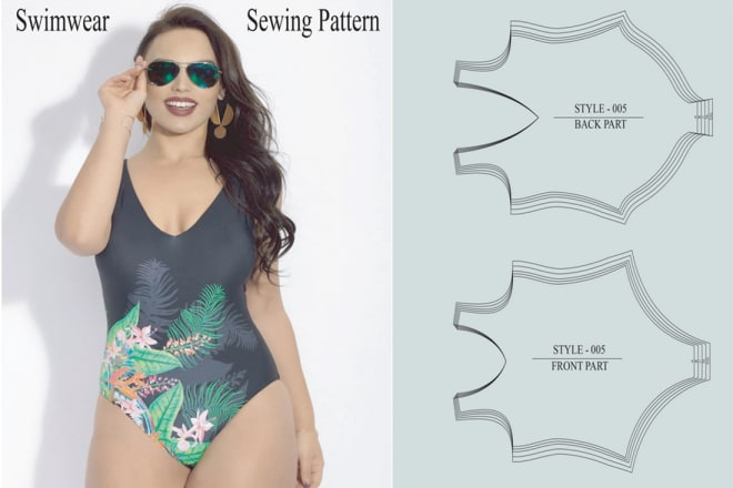 I will do sewing pattern all kind of swimwear