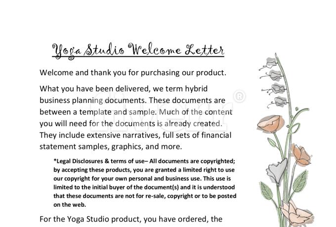 Supply yoga studio business plan template fiverr supply yoga studio business plan template wajeb Choice Image