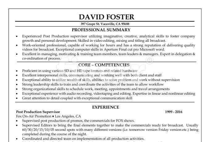 professional resume writer highland mi