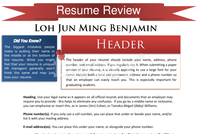 write you a killer resume  linkedin  or cover letter you
