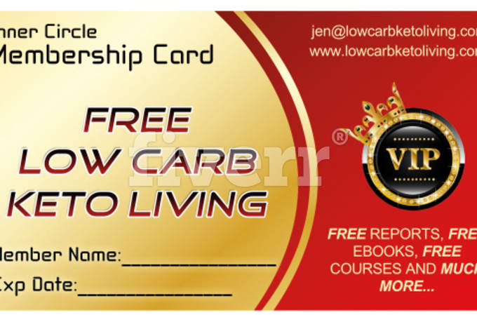 Design professional business card membership card gift card with – Membership Card Samples