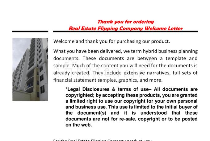 Business Plan For Flipping Houses - Escortsea