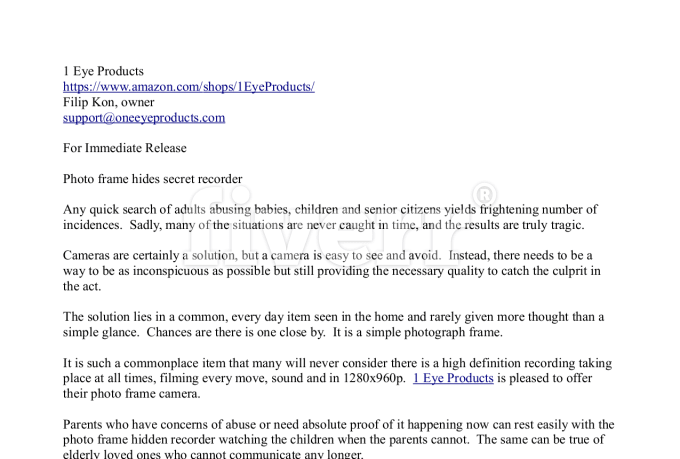 Write you an ap style press release of 250 words by brbaker for Ap press release template