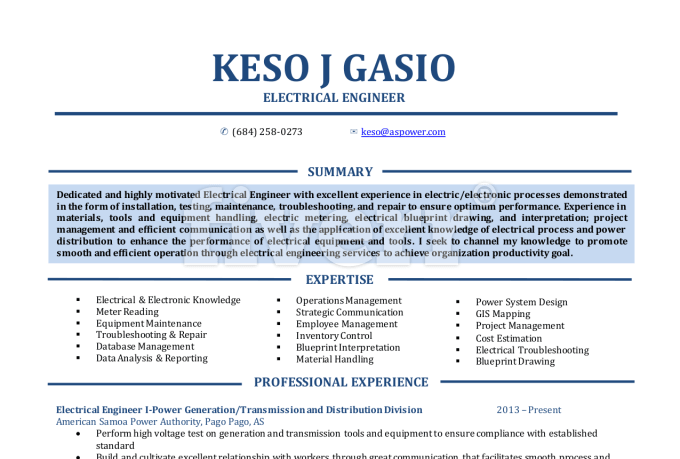 Top Cost Engineer Resume Samples