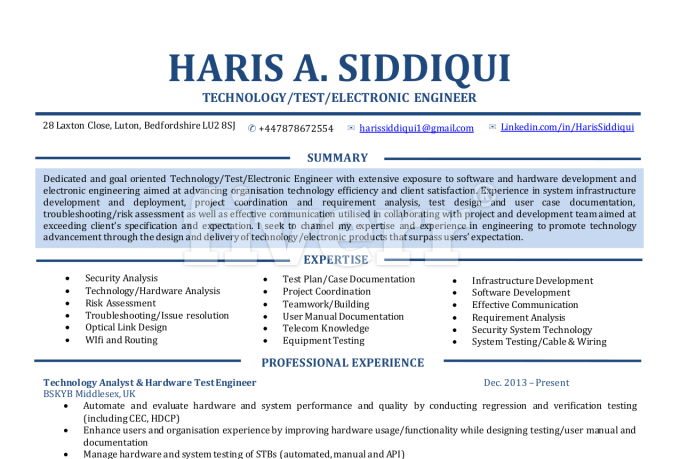 design and write a professional CV Resume or Cover – User Experience Cover Letter