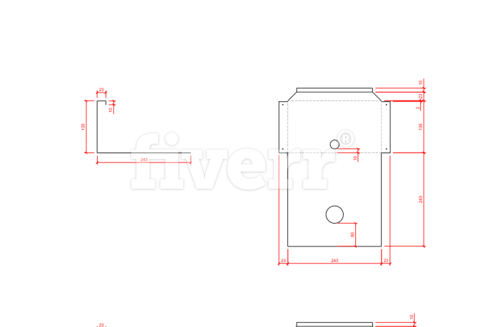 make drawings in autocad, architecture, engineering, others