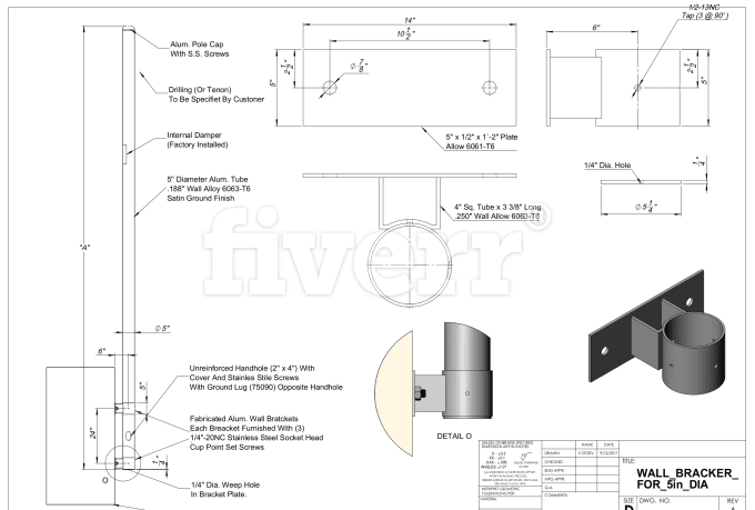 how to read 2d draft then draw it on solidwork