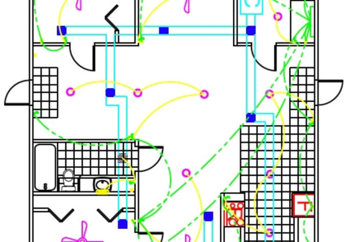 Create a concept floor plan using autocad for your dream house