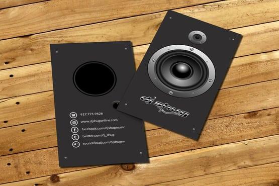 Design a dj business card design by Djemotion