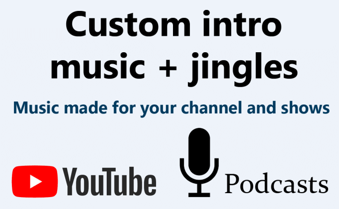 Make Intro Music For Your Game Youtube Channel Or Podcast By Glass Designs