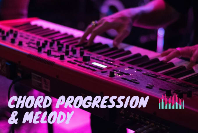 create unique chord progressions and melody for you
