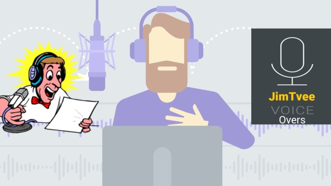 create male and female english voice over with accents