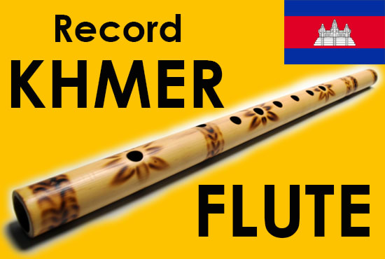 Khmer Flute Record and Master