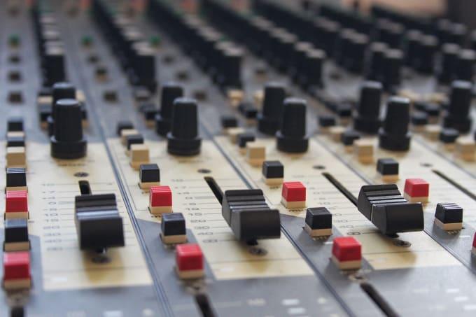 edit, mixing and mastering