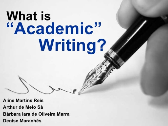 writing an academic essay dr derek soles