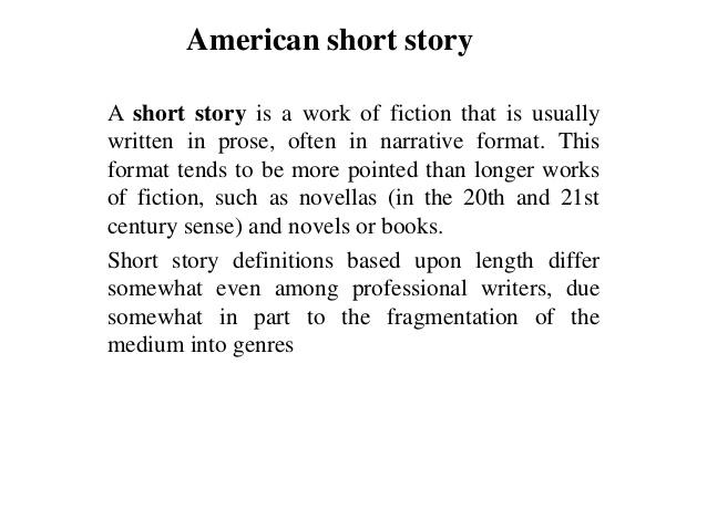 short story in essay format