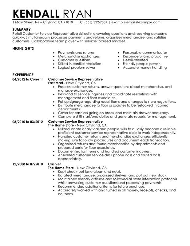 Cell Phone Sales Resume Sample - Best Sample Resume