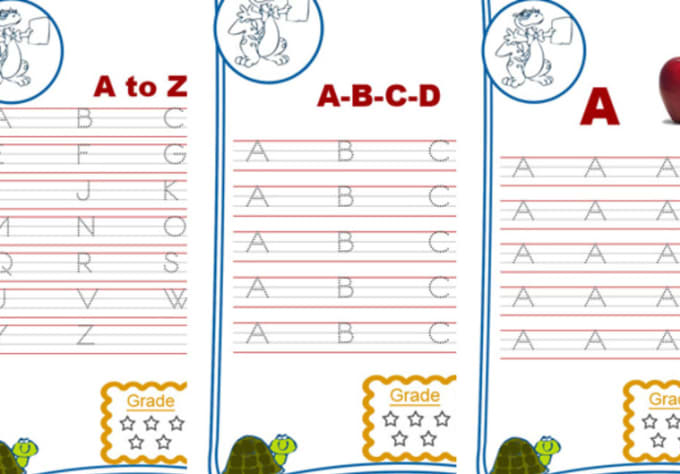 Give you 300 plus printable english and math handwriting practice – English Practice Worksheets