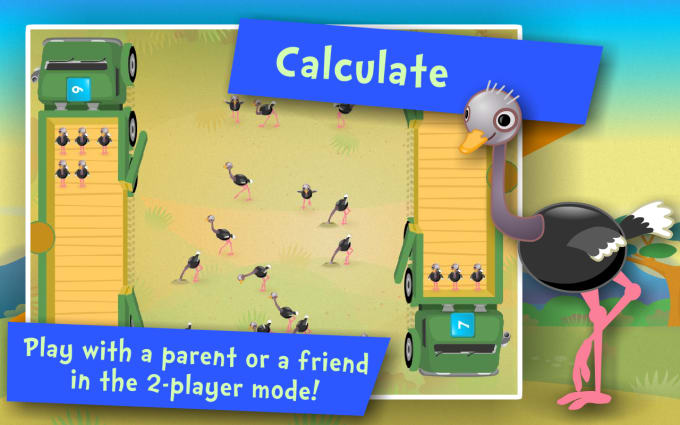 Math review online game