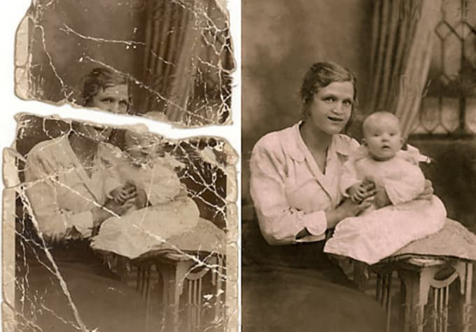 Restore your old damaged photos and make them awesome by ...