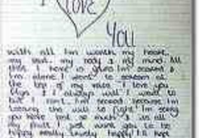 love letters to your girlfriend