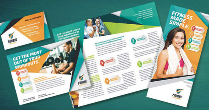 Design Amazing Health And Fitness Flyer  Fiverr