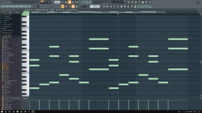 Make a beat in fl studio 12 for you by Burmatv