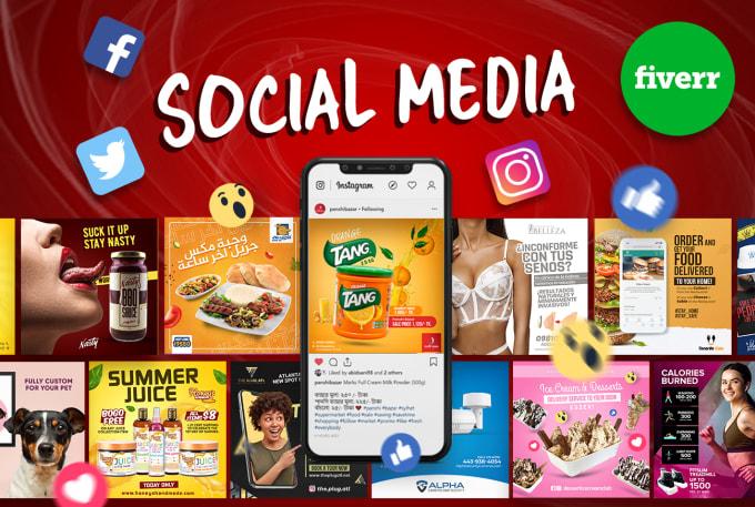 Freelance Social Media Design Services Online Fiverr
