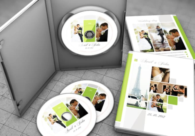 Send you this wedding dvd template cover in psd by mbgraphics send you this wedding dvd template cover in psd pronofoot35fo Choice Image